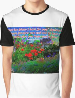 For I Know The Plans I Have For You Graphic T-Shirt