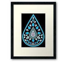 The Family Rain - Teardrops Framed Print