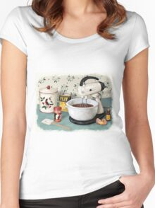 Something From the Oven Women's Fitted Scoop T-Shirt