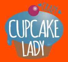 Crazy Cupcake Lady Kids Tee