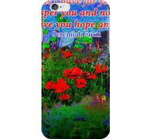 For I Know The Plans I Have For You iPhone Case/Skin