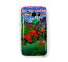 For I Know The Plans I Have For You Samsung Galaxy Case/Skin