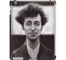 Charles Spencer Chaplin iPad Case/Skin