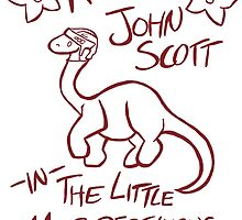 The Little Murdersaurus That Could by HockeyBabbler