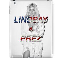 LINDSAY 4 PREZ iPad Case/Skin