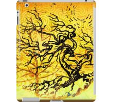 Old and Ancient Tree - Yellow  iPad Case/Skin