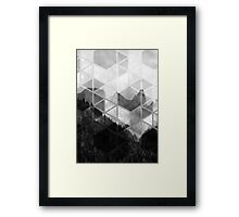 Forest Geometric Print Framed Print