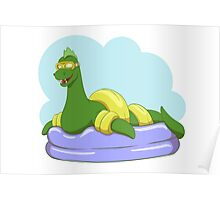 Crypt-kids: Baby Loch Ness (Green) Poster