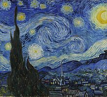 Vincent van Gogh - Starry Night by mosfunky