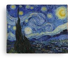 Vincent van Gogh - Starry Night Canvas Print