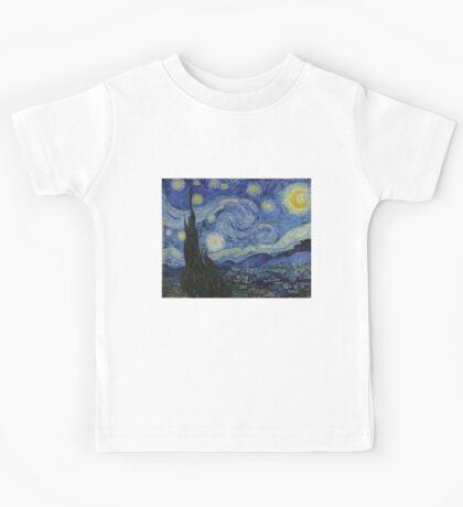 Vincent van Gogh - Starry Night Kids Tee