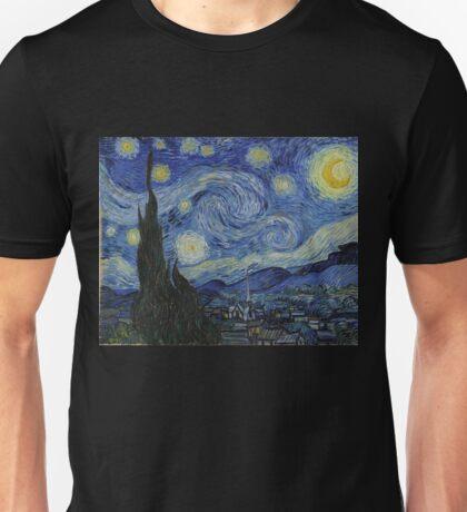 Vincent van Gogh - Starry Night Unisex T-Shirt