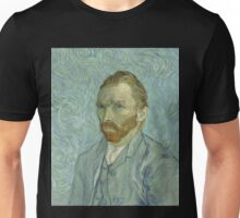 Vincent van Gogh - Self-Portrait, September 1889 Unisex T-Shirt