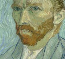 Vincent van Gogh - Self-Portrait, September 1889 Sticker