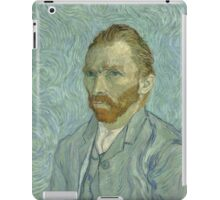 Vincent van Gogh - Self-Portrait, September 1889 iPad Case/Skin