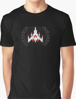 Galaga - Sprite Badge Graphic T-Shirt
