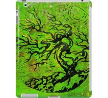 Old and Ancient Tree - Leaf Green  iPad Case/Skin