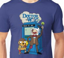 Finn and Jake Adventure Time Doctor Who Unisex T-Shirt