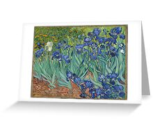 Vincent van Gogh - Irises Greeting Card