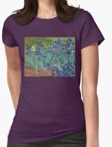 Vincent van Gogh - Irises Womens Fitted T-Shirt