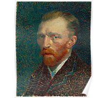 Vincent van Gogh - Self-Portrait Poster