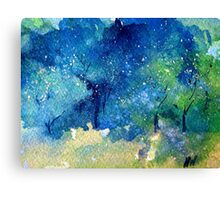 Tree Series - Trees in the Orchard 2 RH Section only Canvas Print