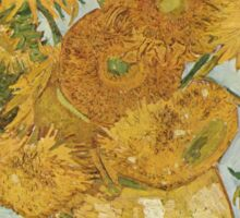 Vincent van Gogh - Sunflowers Sticker