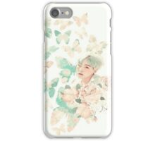 SUGA BUTTERFLY  iPhone Case/Skin