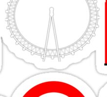London (for stickers) Sticker