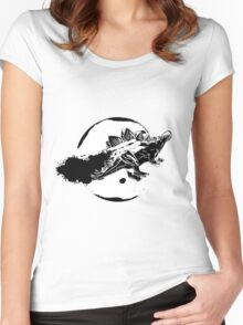 Steg In Space Women's Fitted Scoop T-Shirt