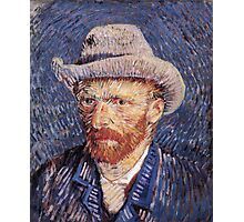 Vincent van Gogh - Self-Portrait with Felt Hat Photographic Print