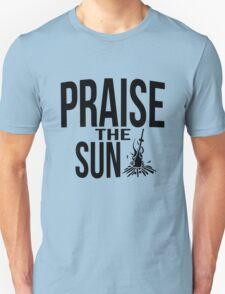 Praise the sun - version 2 - black T-Shirt