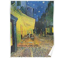 Vincent van Gogh - Café Terrace at Night Poster