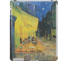 Vincent van Gogh - Café Terrace at Night iPad Case/Skin