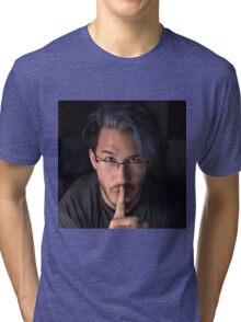 Markiplier - Shh... Tri-blend T-Shirt