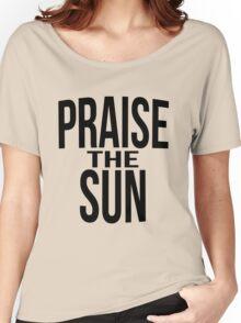 Praise the sun - version 3 - black Women's Relaxed Fit T-Shirt