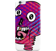 Trippy Skull  iPhone Case/Skin