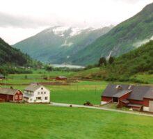 Rural Norway Sticker