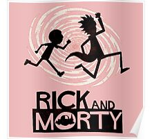 Morty Run Poster