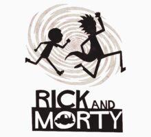 Morty Run Kids Tee