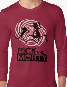 Morty Run Long Sleeve T-Shirt