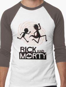 Morty Run Men's Baseball ¾ T-Shirt