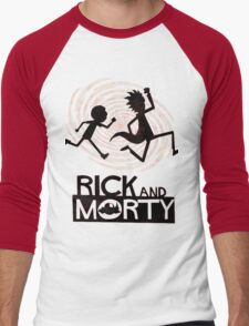 Morty Run Men's Baseball ¾ T-Shirt