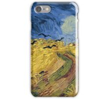 Vincent van Gogh - Wheatfield with Crows iPhone Case/Skin