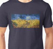 Vincent van Gogh - Wheatfield with Crows Unisex T-Shirt