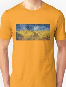 Vincent van Gogh - Wheatfield with Crows Unisex T-Shirt