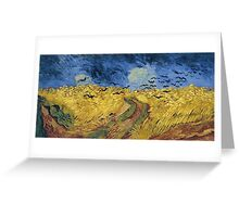 Vincent van Gogh - Wheatfield with Crows Greeting Card