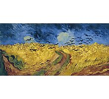 Vincent van Gogh - Wheatfield with Crows Photographic Print