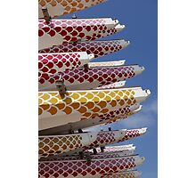 Dragon Boats Photographic Print