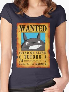 Wanted Totoro Women's Fitted Scoop T-Shirt